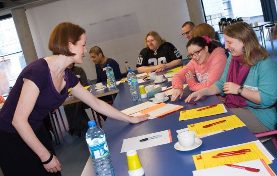 Teachers taking part in a Learning Advisers event at the Science Museum