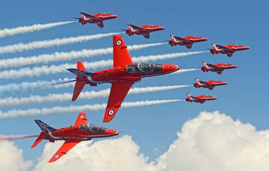Red Arrows 3D