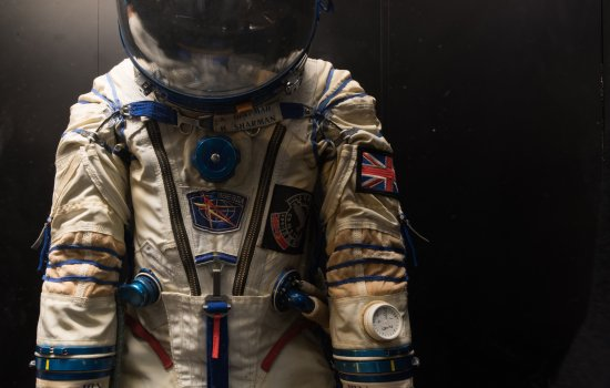 Helen Sharman's space suit