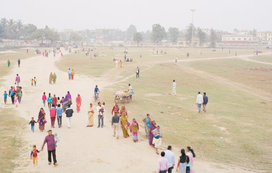 Party Field, Janakpur, Nepal, 2016, from the series A Myth of Two Souls (2013 -) © Vasantha Yogananthan