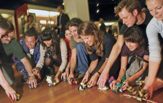 Teachers taking part in a Teacher Zone Late at the Science Museum