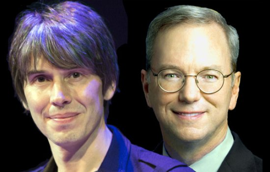 Brian Cox and Eric Schmidt