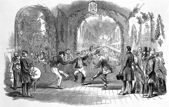 Twelfth Night entertainment at Hanwell Lunatic Asylum