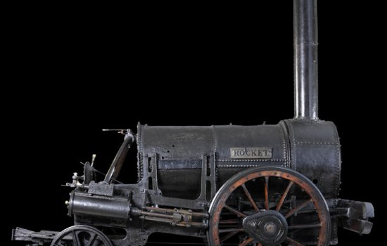 Stephenson's Rocket from the side