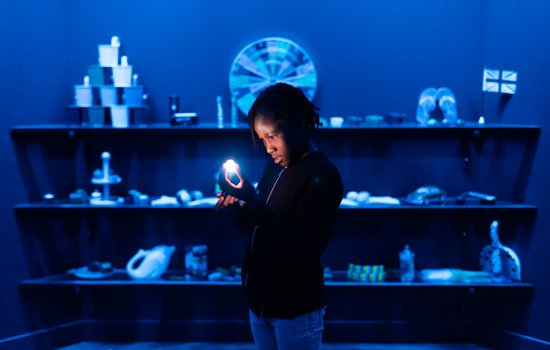 A child in Wonderlab: The Equinor Gallery at the Science Museum