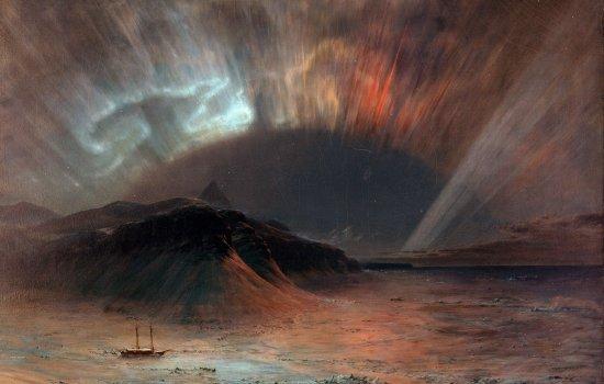 'Aurora Borealis' by Fredric Church, 1865