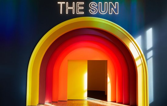 Entrance to the Sun exhibition