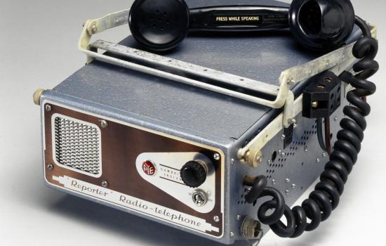 Reporter mobile radiophone type PTC 116
