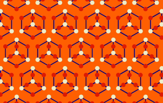 Orange arsenic pattern