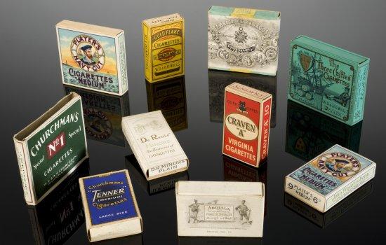 British cigarettes 1920-1950s