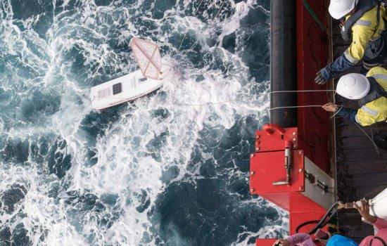 Launching a Mini Boat © Morgan Trimble