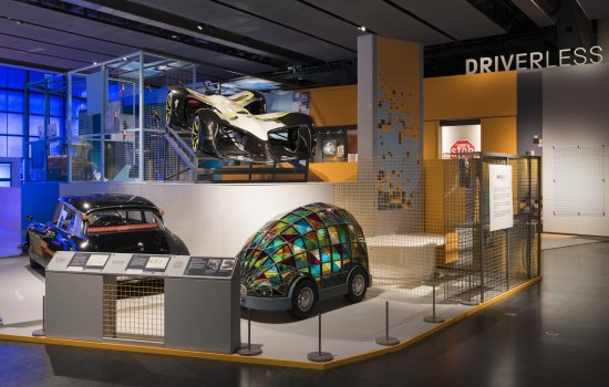 Gallery view of Driverless exhibition