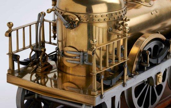 London and Southampton railway locomotive