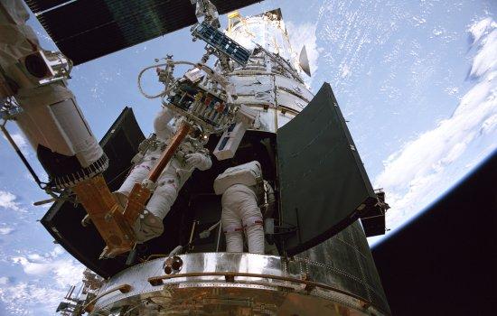 Still from IMAX presentation'Hubble 3D'