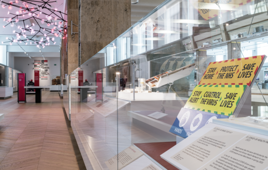 COVID-19 displays in Medicine: The Wellcome Galleries