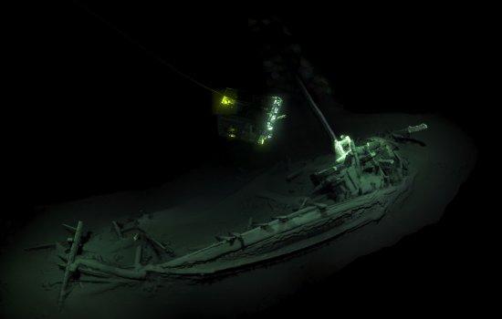 3D image of worlds oldest shipwreck