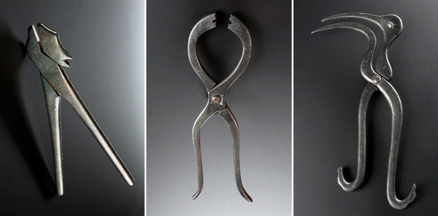 Replica Ayurvedic surgical instruments  c.1900-1930