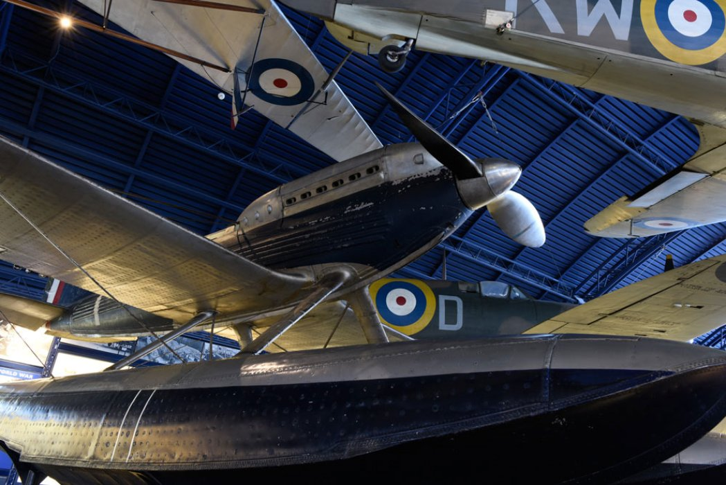 Aeroplanes in the Flight gallery
