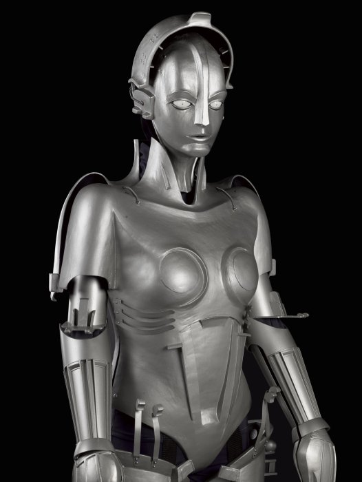 Replica of 'Maria' robot, Designed and made for Fritz Lang's film Metropolis, 1927