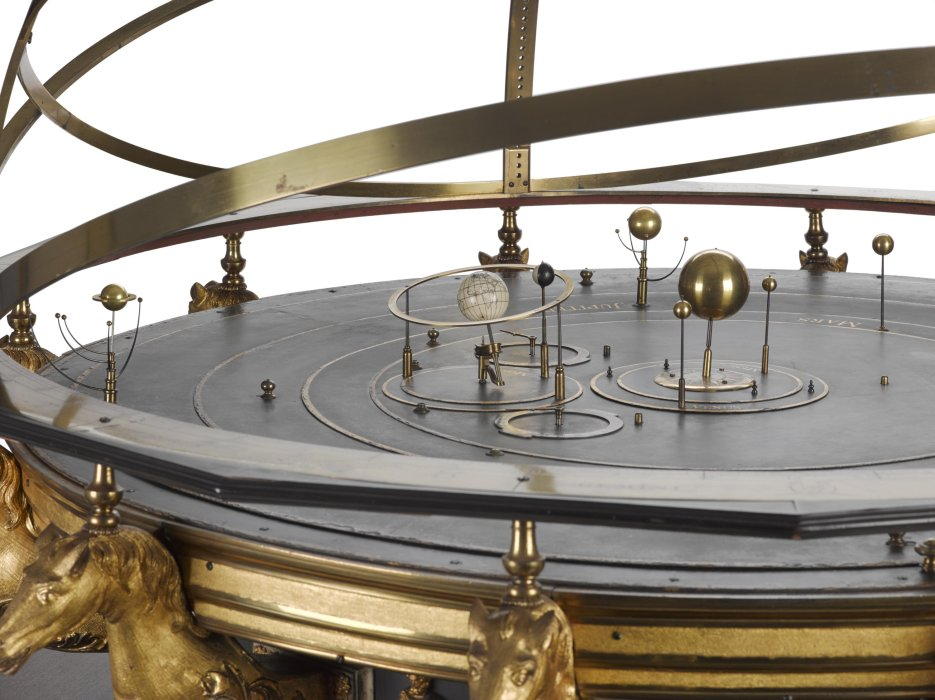 Wright's grand orrery