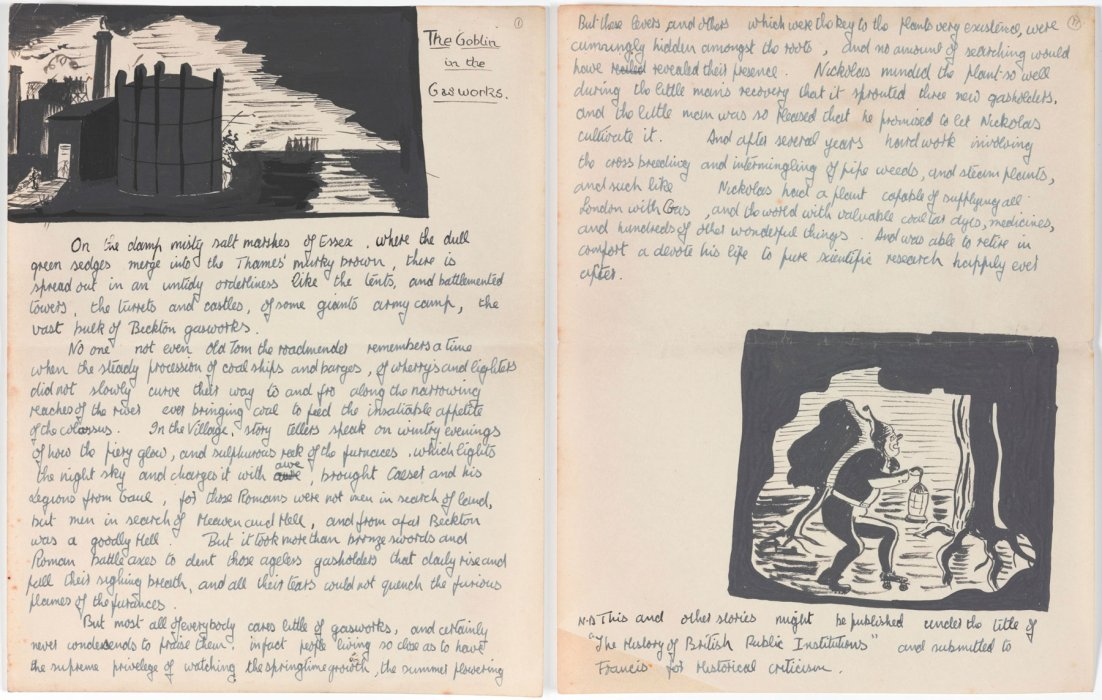 Pages from The Goblin in the Gasworks by James Lovelock