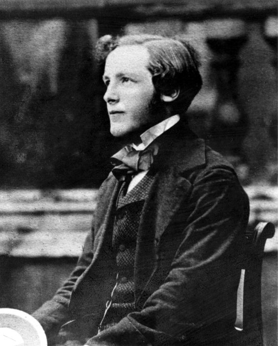 Photograph of James Clerk Maxwell (1831-1879), Scottish physicist, c1850s.