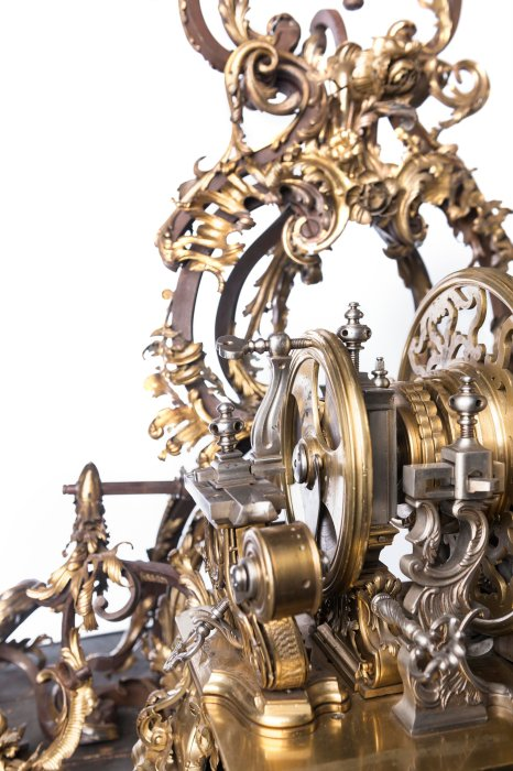 Ornamental turning rose-engine lathe