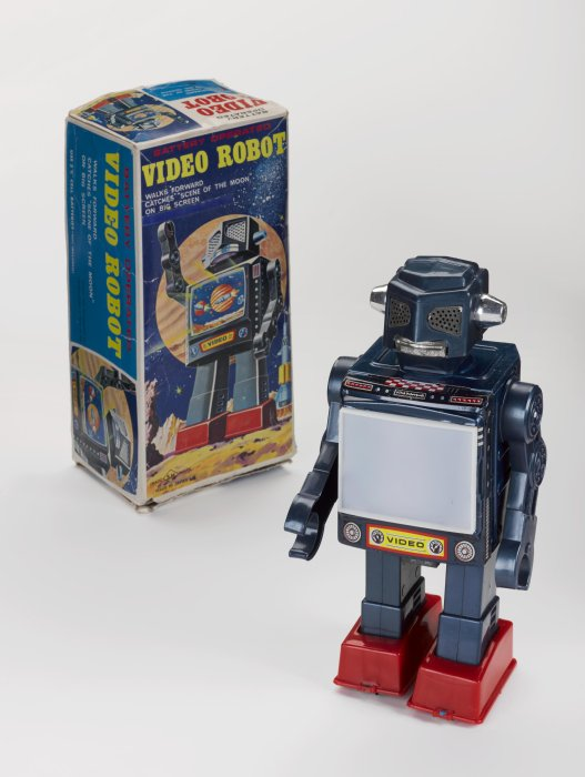 Video Robot with packaging, 1971, Horikawa, Japan.