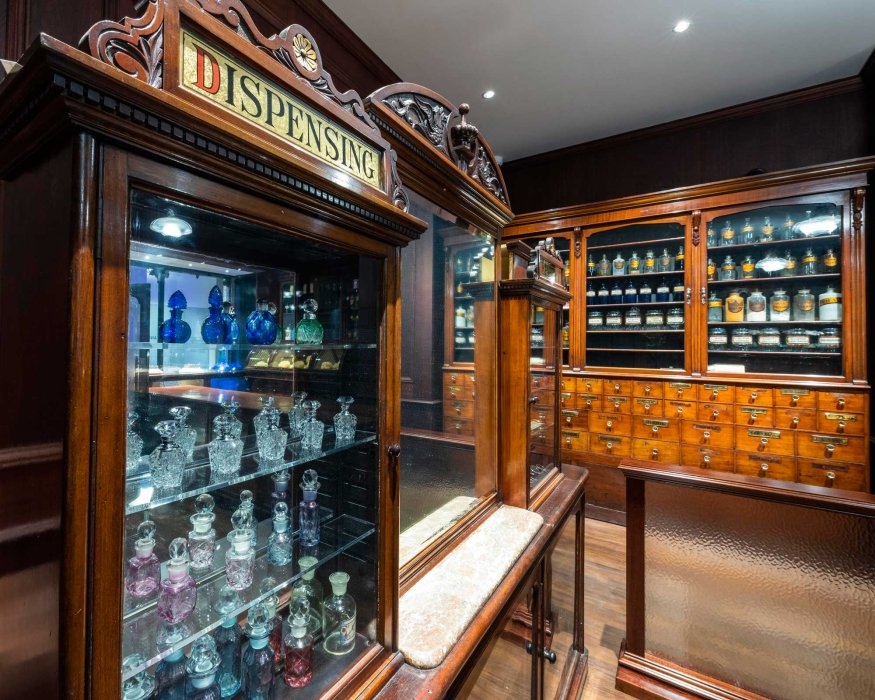 Mr Gibson's Pharmacy in the Medicine Gallery