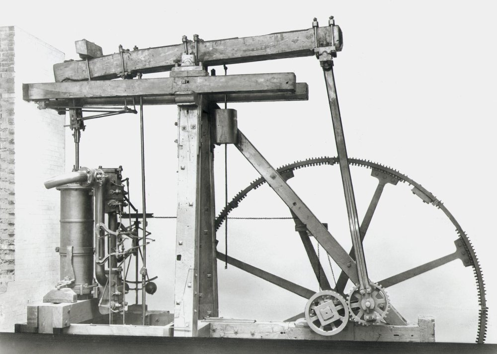 Boulton and Watt Rotative Beam Engine