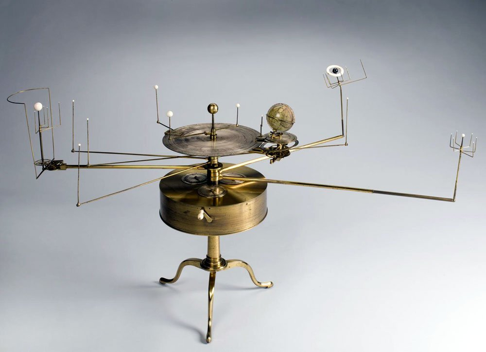 Fidler orrery designed by William Pearson
