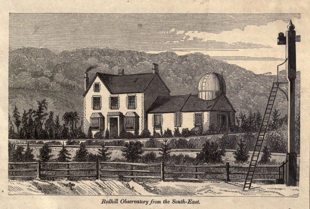 Richard Carrington's house and observatory in Redhill, Surrey.