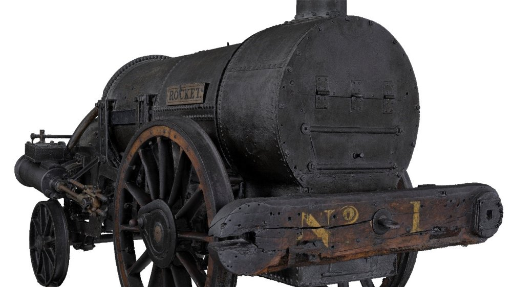 Image taken from the 3D scan of Stephenson's Rocket © The Board of Trustees of the Science Museum