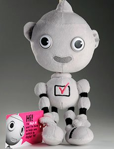Digit Al soft toy