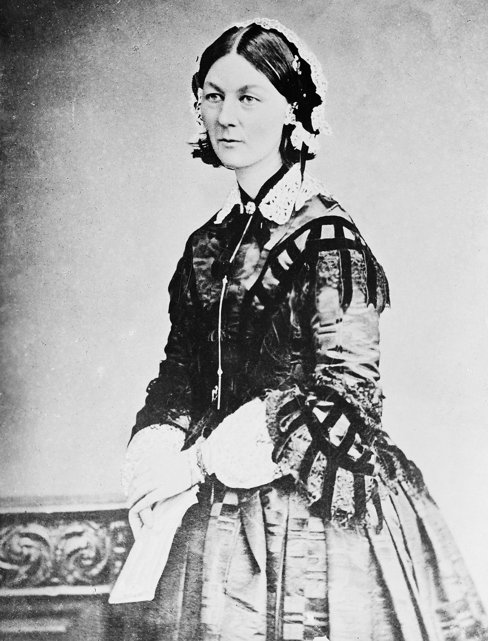 Florence Nightingale. Photograph by the London Stereoscopic & Photographic Company Ltd.