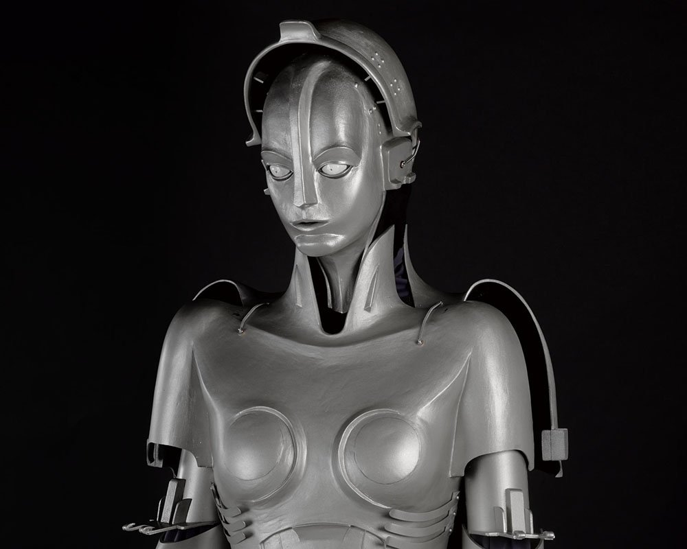 Replica of robot Maria from the film Metropolis