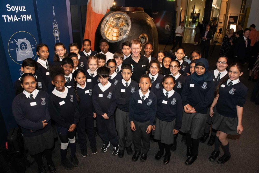 Tim Peake brings Soyuz back to the Science Museum