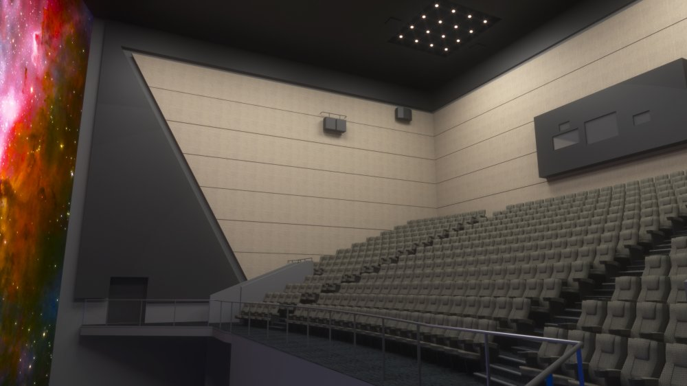Architects' impression of IMAX: The Ronson Theatre